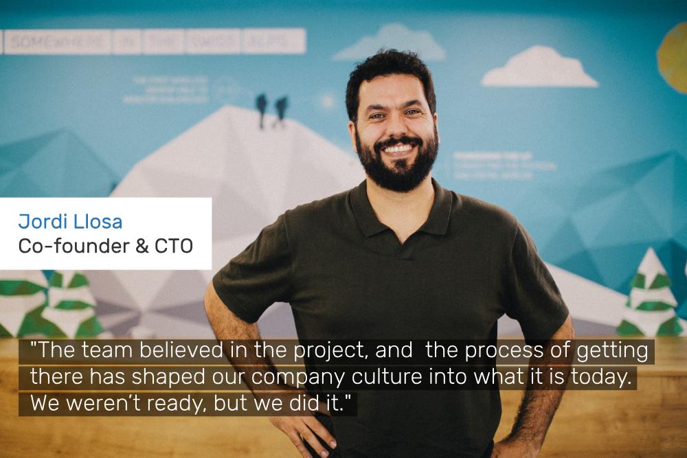 Worldsensing CTO company anniversary