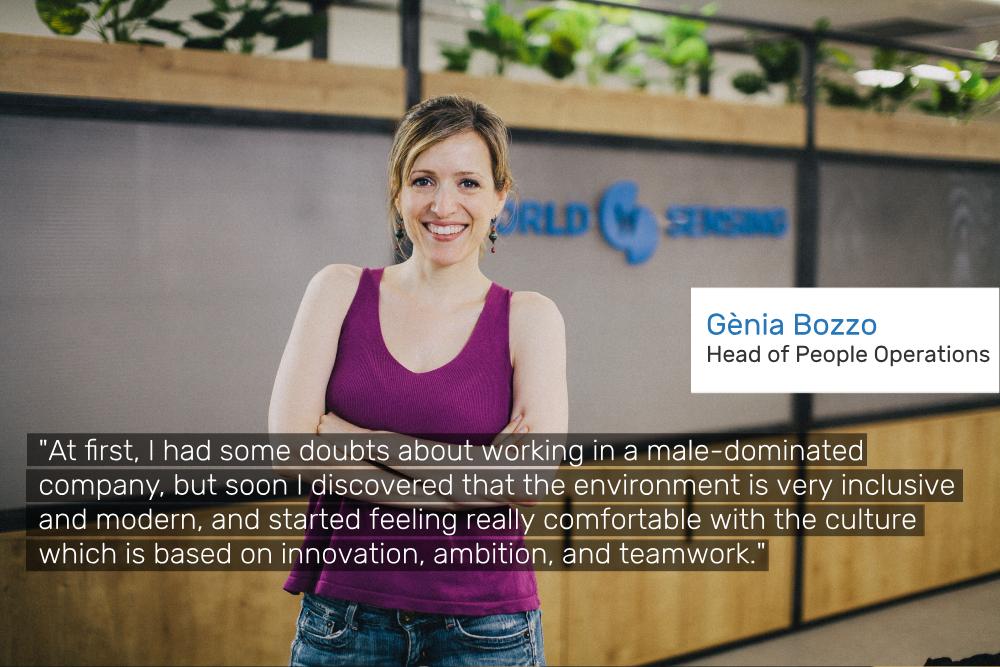 Genia Head of People Operations company anniversary