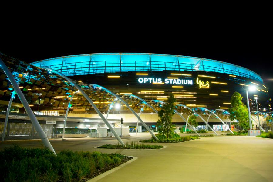 The Optus Stadium